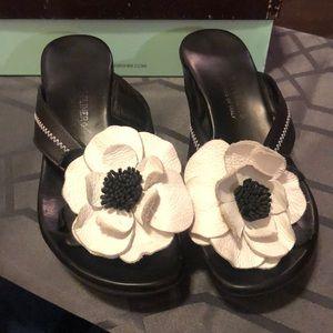 DJP flower sandals